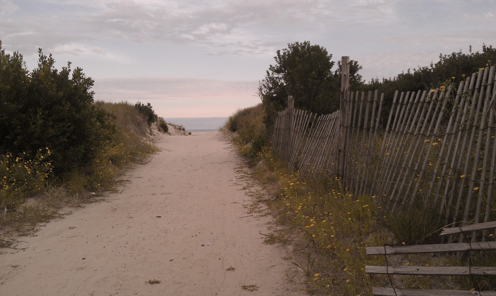 Path to the Beach, Brigantine, New Jersey