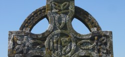 Traditional Celtic Cross from Graveyard Rock of Cashel
