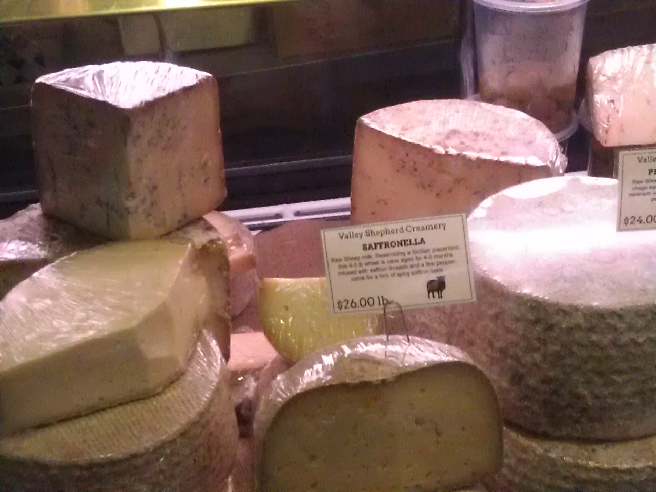 Reading Terminal Market Philadelphia's Indoor Farmers Market Cheese Counter