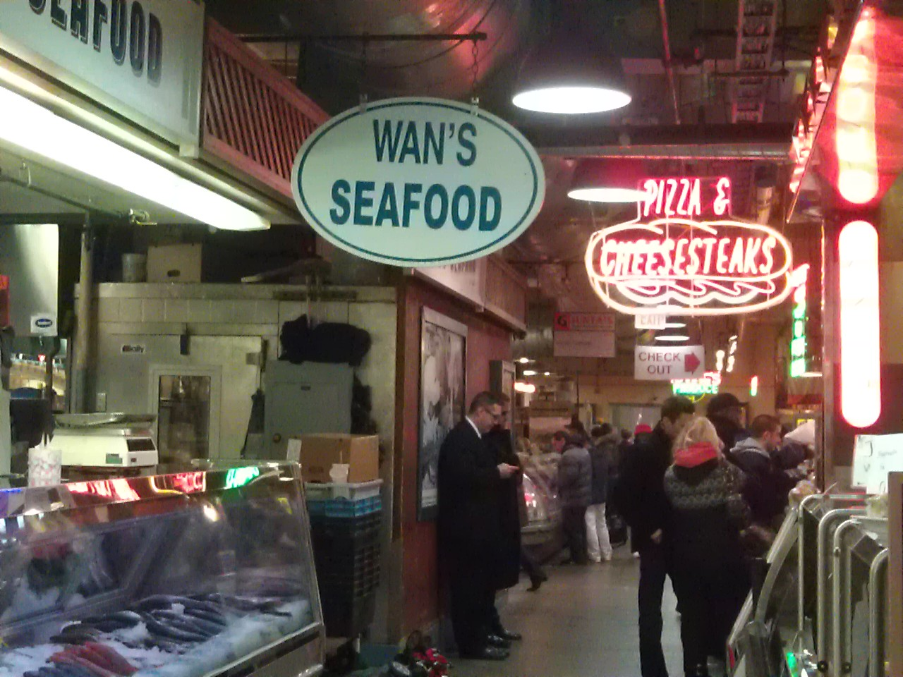 Reading Terminal Market Philadelphia Cheesesteaks