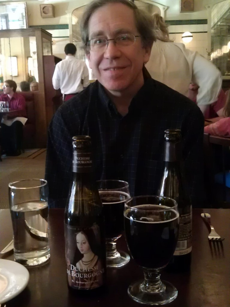 Beer at Parc Brasserie, Rittenhouse Square, Philadelphia