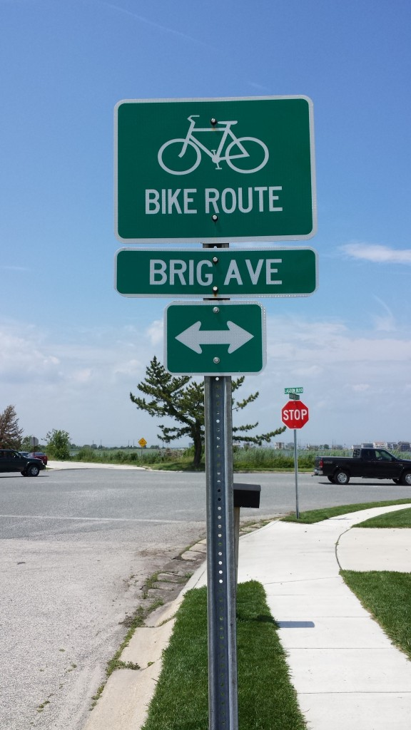 Brigantine, New Jersey is bike friendly
