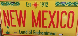 New Mexico Licence Plate - Land of Enchantment