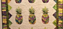 Pineapple Quilt at the Hawaii Quilt Guild Show