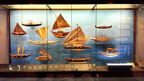 Ships of Oceania, Pacific Hall, Bernice Pauhi Bishop Museum