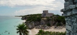 Mayan Ruins at Tulum Mexico