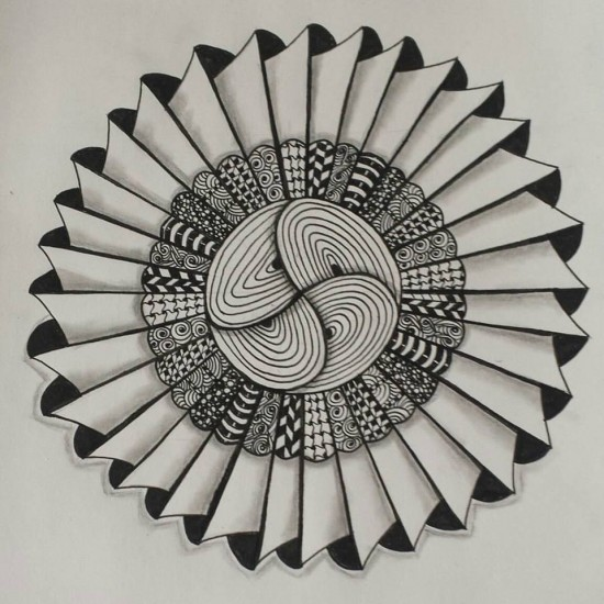 My latest Zentangle Inspired Art.