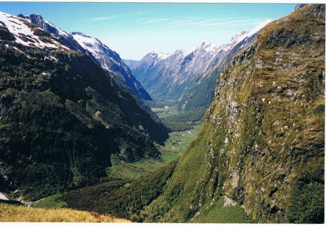 MacKinnon-Pass, Milford Track, New Zealand