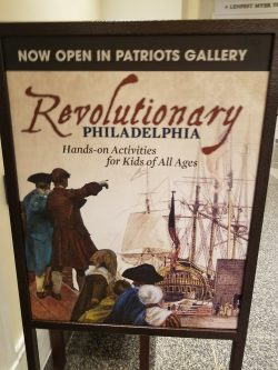 Childrens' Patriots Gallery at the Museum of the American Revolution in Philadelphia