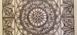 Zentangle Diva Challenge 329 by Suzanne Fluhr