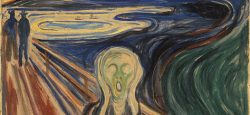 The Scream by Edvard Munch: Public Domain