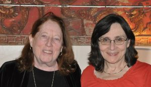 Billie Frank and Suzanne Fluhr