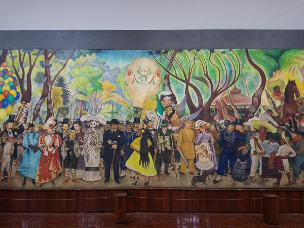 Dream of a Sunday Afternoon in Alameda Central Park, Mural by Diego Rivera, Mexico City