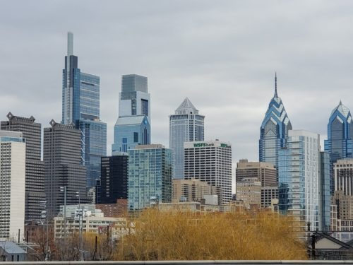 Center City Philadelphia from the South Street Bridge